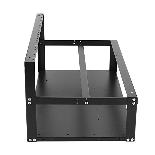 HoganeyVan Open Air Frame Mining Rig Overlying Case Rack for 6 GPU for ETH Computer Chassis Miner Frame Case for Ethereum for Bitcoin -