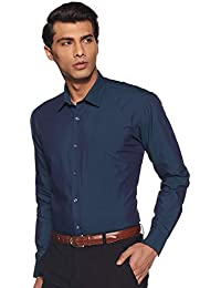 Amazon Brand - Symbol Men's Regular Fit Cotton Formal Shirt