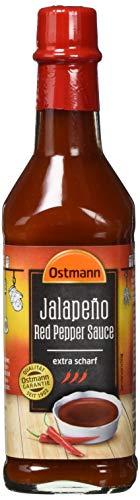 Ostmann Jalapeño Red Pepper Sauce EXTRA scharf, 4er Pack (4 x 100 ml)