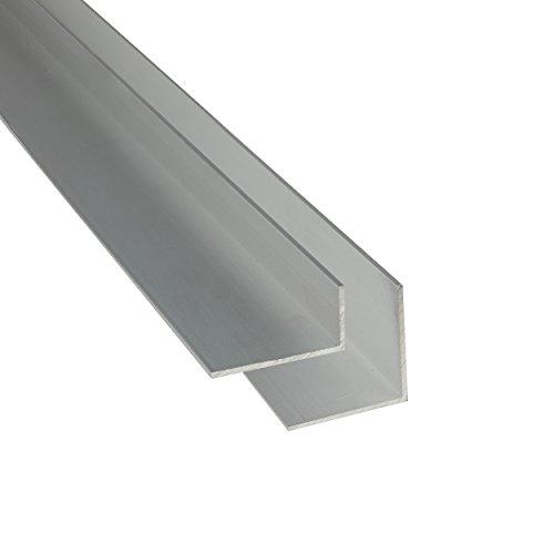 Aluminium Winkel silber eloxiert 1-2 m L Profil Aluminiumprofil Winkelprofil 30 x 20 x 2 mm x 1.000+-4 mm