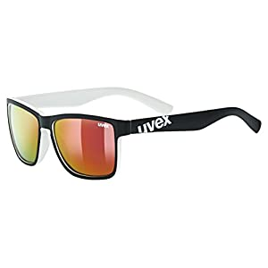 Uvex lgl 39 Sports Glasses, Unisex, lgl 39, black mat white, One Size