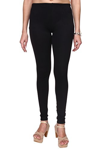 Trasa Ultra Soft Cotton Churidar Solid Regular and Plus 35 Colours Best Seller Leggings for Womens and Girls- Sizes :- M, L, XL, 2XL, 3XL, 4XL, 5XL, 6XL