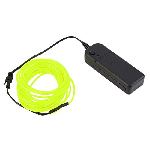 VCB 5 Mt Bunte Flexible EL Drahtschlauch Seil Neonlicht Glow Controller Party Decor
