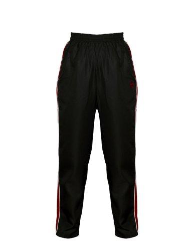 Peak Sport Europe AP12H Pantalon pour Homme Rouge Bordeaux/Blanc l