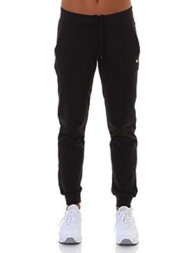 Champion Rib Cuff, pantalones deportivos para mujer., negro