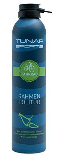 TUNAP Sports Rahmenpolitur, 300 ml | Spray für Fahrrad Rahmen und Teile | MTB, Rennrad, E-Bike etc. - auch matt Lack