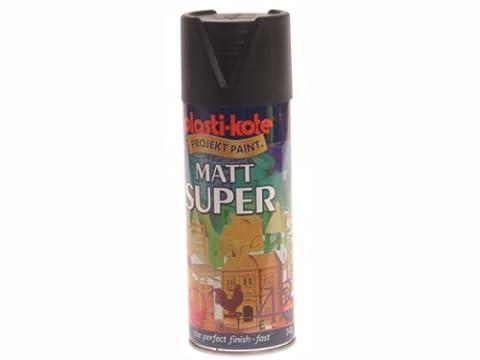 Plasti-kote 3101 400ml Super Spray Paint - Matt