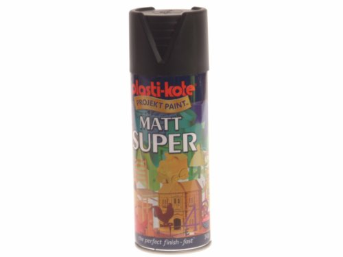 plasti-kote-3101-400ml-super-spray-paint-matt-black