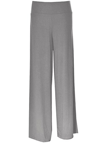 Lush Clothing Womens Plain Palazzo Trousers. Many Colours. Sizes  8-14