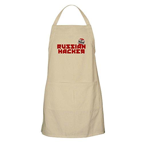 CafePress-Russian Hacker-Küche Schürze mit Taschen, Grillen Schürze, Backen Schürze Khaki