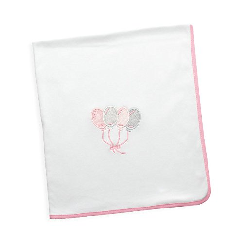 Arrrullo para bebé punto de algodón (80x80 cm) MY GLOBE Rosa