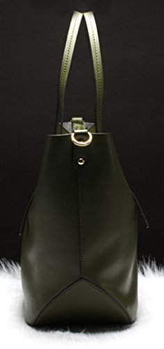 Keshi Leder Cool Damen Handtaschen, Hobo-Bags, Schultertaschen, Beutel, Beuteltaschen, Trend-Bags, Velours, Veloursleder, Wildleder, Tasche Weiß Black