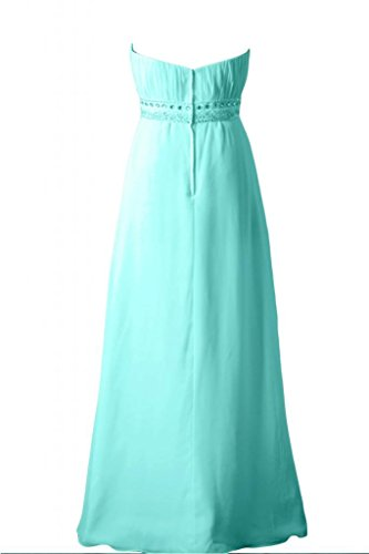 Sunvary elegante, senza spalline abito A-line Sweetheart vestito da damigella d'onore per feste Mint