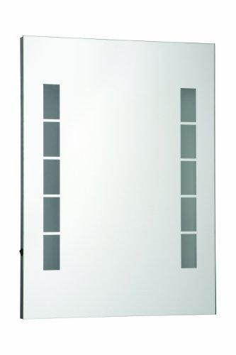 PREMIER HOUSEWARES 1101445 MALANA - ESPEJO DE PARED ILUMINADO (80 X 60 X 3 5CM)