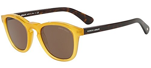 Giorgio Armani Sonnenbrillen AR 8112 YELLOW/BROWN Herrenbrillen