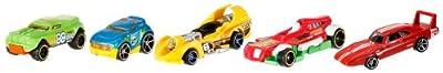 Hot Wheels 1806 - Pack De 5 Vehiculos (Mattel)- surtido de Mattel