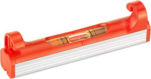 Connex Schnur-Wasserwaage 70 mm - 1 Libelle - 2 {edca147bb3bfa451a8830678e64d2f9d1a16438f9aea57ba6440c5a581fe4b22} Gefälle ablesbar - Leichte Bauweise & Kompaktes Design - Zum Einhängen in Richtschnüre / Schnurlinien-Wasserwaage / Schnurwaage / COXT743000