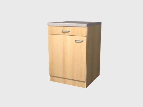 Küchen Unterschrank 60 cm Buche - Namu