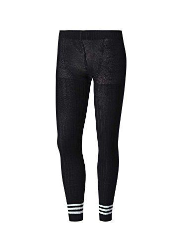 adidas Damen Tight 3 Stripes Leggings, Black, XS (Black Stripe Leggings)