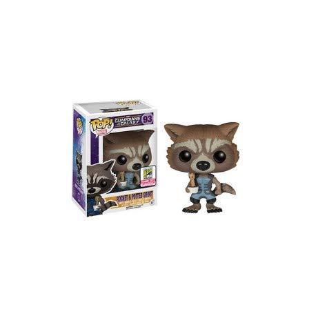 Funko 5340–Guardianes de la Galaxia, Pop Vinyl Figure 93Rocket Raccoon with Baby Groot