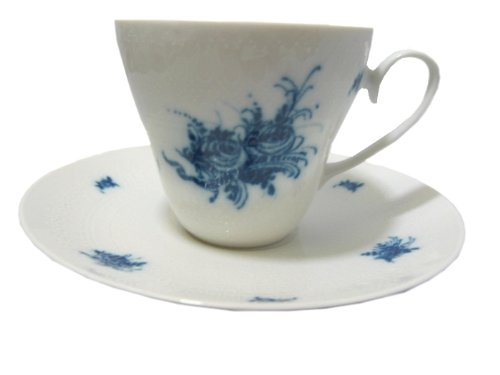 Rosenthal Romanze Blau: Tasse mit Untertasse