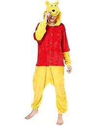 Pijama de una sola pieza y con capucha, diseño de Winnie the Pooh, Winnie