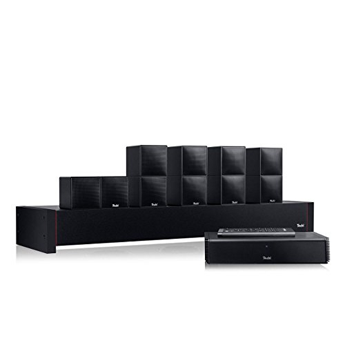 Teufel Cubycon Complete Schwarz/Schwarz Heimkino Lautsprecher 5.1 Soundanlage Kino Raumklang Surround Subwoofer Movie High-End HiFi Speaker