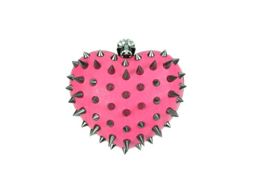 Anarchy a forma di cuore, da donna, misura Cupcake Cult alternativa Goth Punk Emo Osiris Fashion Rosa