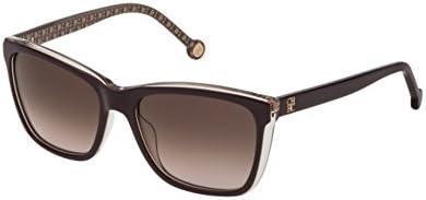 Carolina Herrera SHE695 DARK BROWN (0ABH) - Gafas de sol
