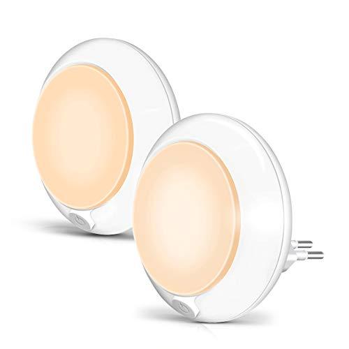 Opard LED Nachtlicht Steckdose mit Dämmerungssensor Kinder