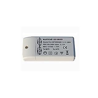 Bluetech LED Trafo Treiber, DC 12 V, 0,5-18 W, G4 MR16
