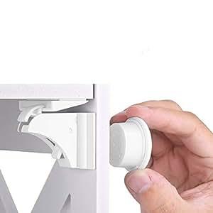kindersicherung sicherheitsschloss schrankschloss hurrise kindersicherheit schl sser magiclock. Black Bedroom Furniture Sets. Home Design Ideas