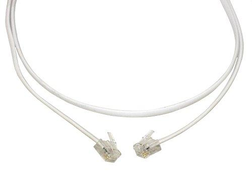 Aerzetix -RJ11 6P4P - Kabel Kabel für ADSL-Modem Internet-Telefon 7m