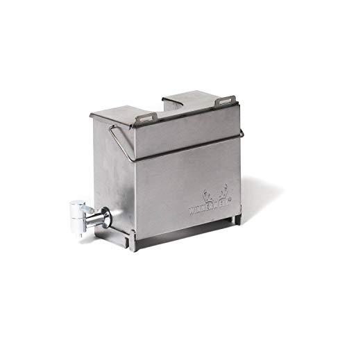 Winnerwell Water Tank Medium | Kompatibel mit mittelgroßen Kaminöfen | Haltbarer Edelstahl 304