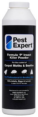 1 boite de poudre tue-mites de tapis Formule 'P' 300g de Pest Expert