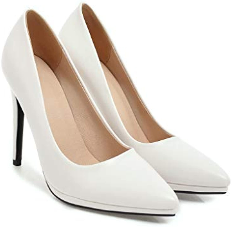 k & gq sandales à talons de de de chaussures de femmes célibataires sexy petite bouche ont pu de façon artific ielle b0 7g5p7zxj respirants parent résistant à l'usure 1c0c46