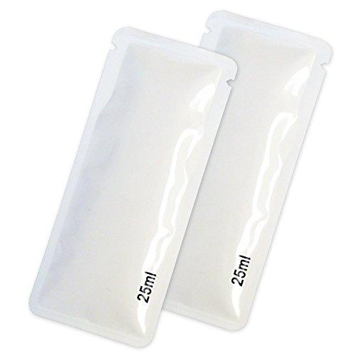 CleanUrin 2 x CleanU künstliches (2x25ml Beutel) verbesserte Version synthetisches sauberes Urin, 1er Pack (2 x 1 Stück)