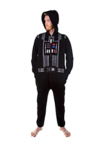 Darth Vader Chest Plate Costume - Mens Black Star Wars Darth Vader Costume