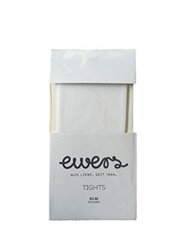 Ewers Baby Strumpfhose Taufe Feinstrumpfhose (62, Weiß)