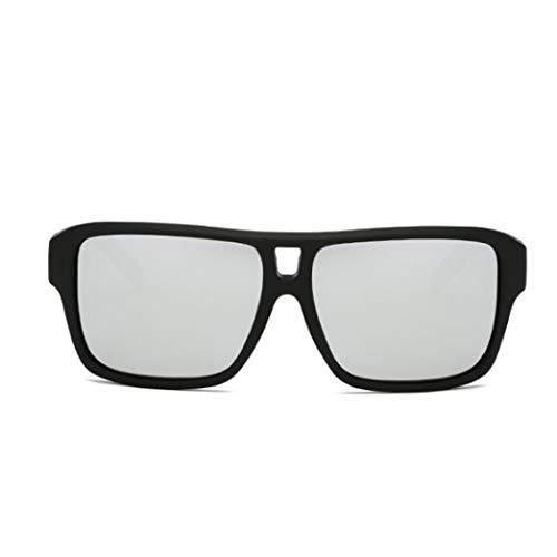 bescita DUBERY Herren Retro Vintage Sonnenbrille im angesagte Browline-Style mit markantem Halbrahmen Sonnenbrille, Brillen Trends 2018 (G)