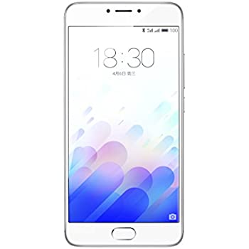 Meizu M3 note - Smartphone con pantalla de 5.5 (procesador Octacore Helio P10 3GB RAM, 32GB), color plata
