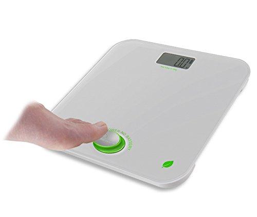 Little balance - 8225 - Pèse-personne électronique sans pile 160kg/100g blanc/vert green power