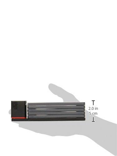 ABUS 5700 Ugrip Bordo Faltschloss, Black, 11273 - 3
