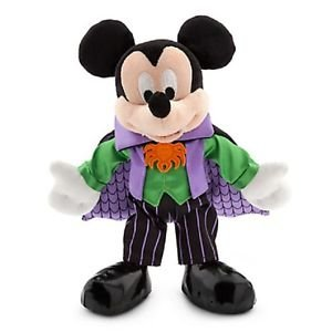 (DISNEY STORE AUTHENTIC HALLOWEEN weichem Plüsch SPOOKY MICKEY MOUSE VAMPIRE)