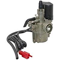 IMPORT PARTS BIKE - CARBURATEUR SCOOT ADAPTABLE PEUGEOT 50 TKR- SPEEDFIGHT 1 ET 2- BUXY- ELYSEO- TREKKER-KYMCO 50 AGILITY- DINK- PEOPLE 2T (AVEC STARTER ELECTRIQUE) (DIAM 16mm)