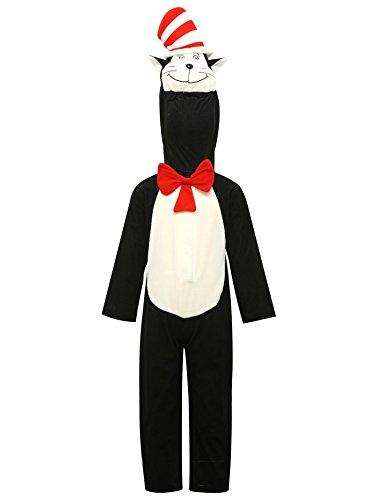 Kostüme Dr Seuss Halloween (M&Co Jungen Bekleidungsset schwarz schwarz)