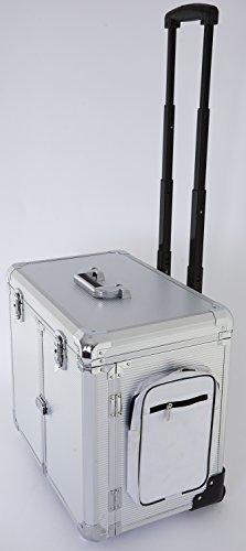 Fusspflegekoffer Modell CS-Titanium silber