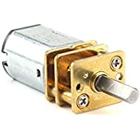 Mengonee Motores reductores de velocidad con micro Full Metal Caja de cambios Caja de engranajes del motor eléctrico DC 6V GA12-N20 para Smart Juguetes