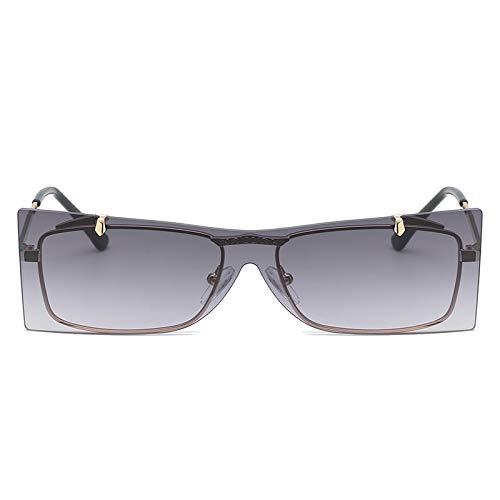 Gafas de sol Unisex,Aviador de Metal Clásico Marco del Espejo Lente Gafas de Sol Con las Bisagras del Resorte ZARLLE