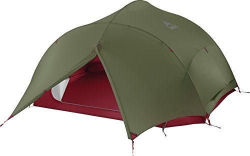 MSR PAPA HUBBA NX 3 PERSON BACKPACKING TENT (GREEN)